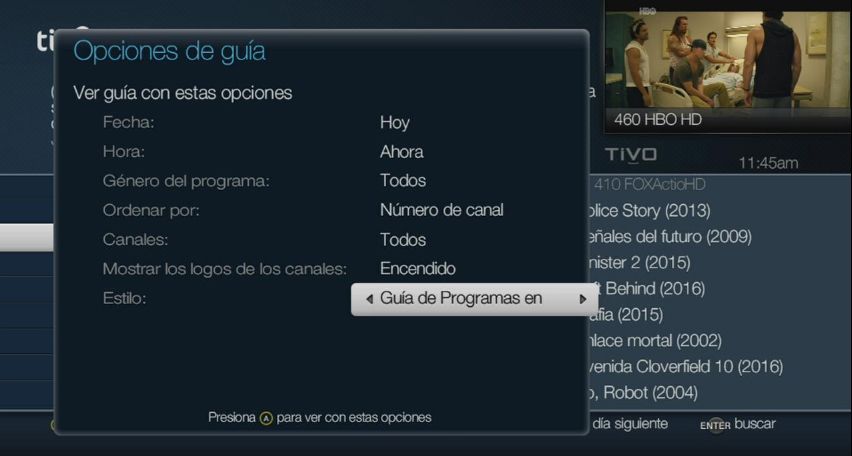 programación one tv